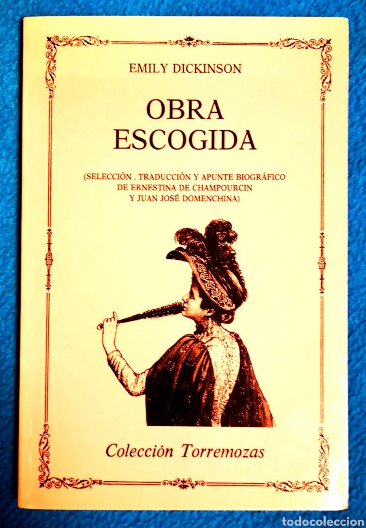 emily dickinson - obra escogida - Comprar en todocoleccion - 194870751