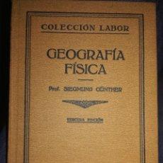 Libros de segunda mano: GEOGRAFÍA FÍSICA . Lote 194876085