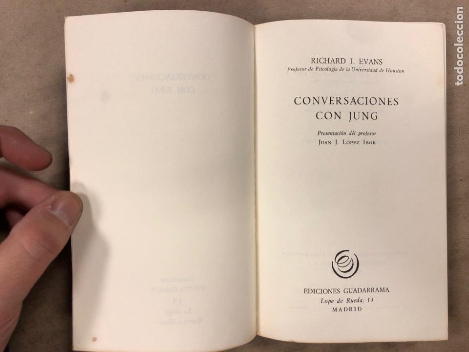 Libros de segunda mano: CONVERSACIONES CON JUNG. RICHARD EVANS. EDICIONES GUADARRAMA 1968. 208 PÁGINAS. - Foto 2 - 194876375