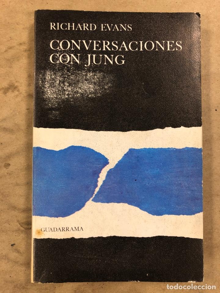 CONVERSACIONES CON JUNG. RICHARD EVANS. EDICIONES GUADARRAMA 1968. 208 PÁGINAS. (Libros de Segunda Mano - Pensamiento - Otros)