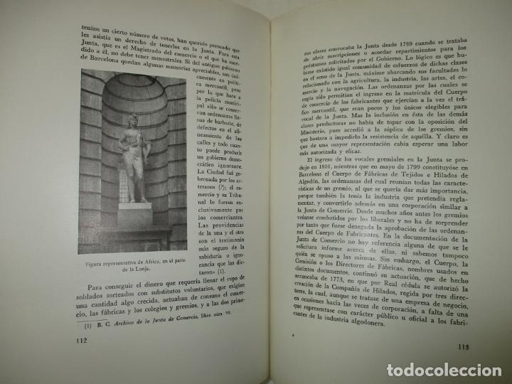 Libros de segunda mano: LA LONJA DEL MAR Y LOS CUERPOS DE COMERCIO DE BARCELONA. CARRERA PUJAL, Jaime. 1953. - Foto 3 - 194878236