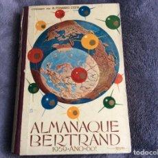 Libros de segunda mano: ALMANAQUE BERTRAND, 1959. ENVIO GRÁTIS.. Lote 194883447