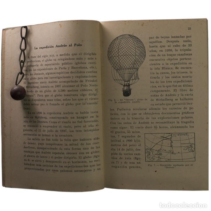 Libros de segunda mano: LIBRO ANTIGUO. GLOBOS y DIRIGIBLES. JUAN J. MALUQUER. 1942 - Foto 4 - 194884495