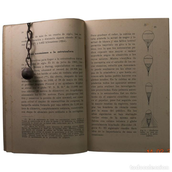 Libros de segunda mano: LIBRO ANTIGUO. GLOBOS y DIRIGIBLES. JUAN J. MALUQUER. 1942 - Foto 5 - 194884495