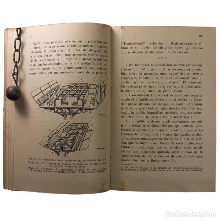 Libros de segunda mano: LIBRO ANTIGUO. GLOBOS y DIRIGIBLES. JUAN J. MALUQUER. 1942 - Foto 7 - 194884495