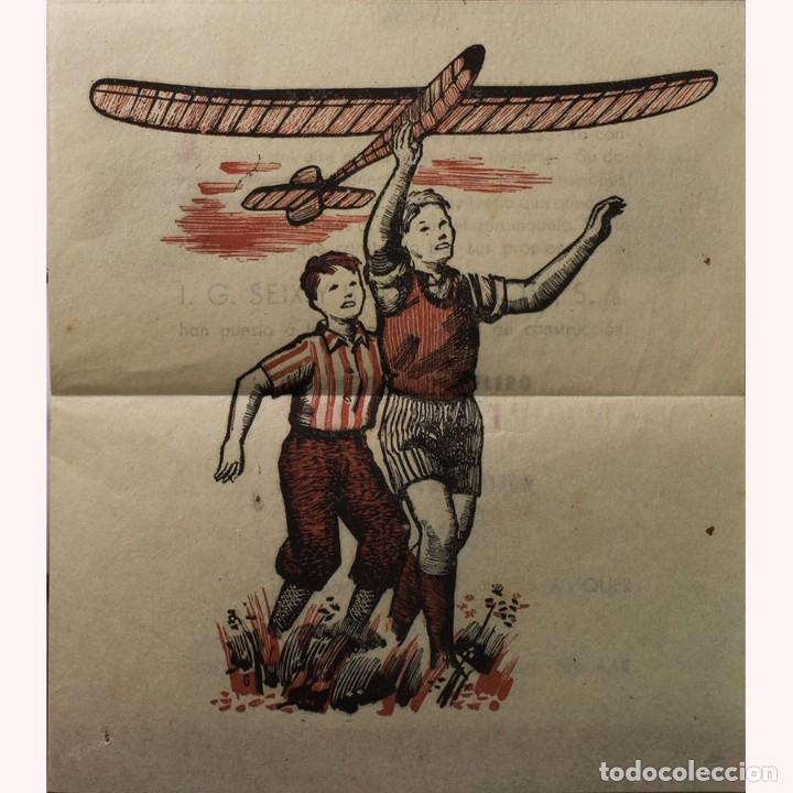Libros de segunda mano: LIBRO ANTIGUO. GLOBOS y DIRIGIBLES. JUAN J. MALUQUER. 1942 - Foto 9 - 194884495