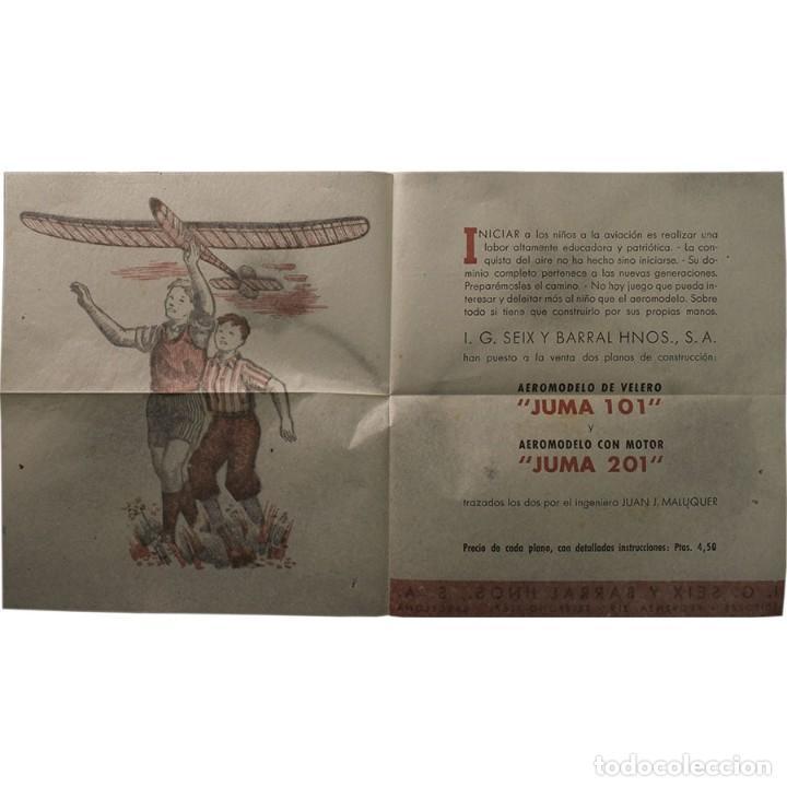Libros de segunda mano: LIBRO ANTIGUO. GLOBOS y DIRIGIBLES. JUAN J. MALUQUER. 1942 - Foto 10 - 194884495