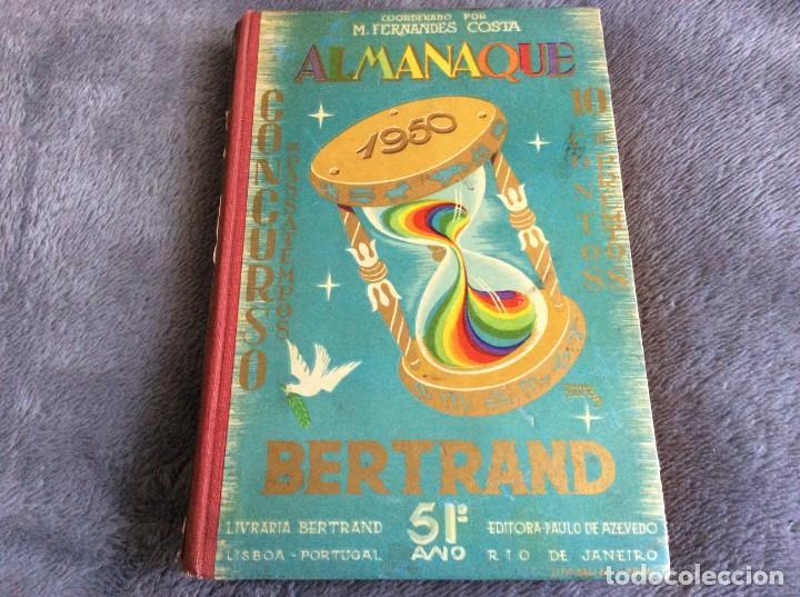 ALMANAQUE BERTRAND, 1950. ENVIO GRÁTIS. (Libros de Segunda Mano - Historia - Otros)