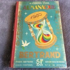 Libros de segunda mano: ALMANAQUE BERTRAND, 1950. ENVIO GRÁTIS.. Lote 194884753