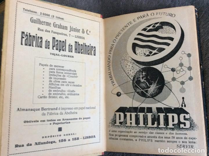 Libros de segunda mano: Almanaque Bertrand, 1950. Envio grátis. - Foto 2 - 194884753