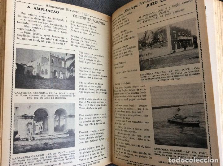 Libros de segunda mano: Almanaque Bertrand, 1950. Envio grátis. - Foto 9 - 194884753