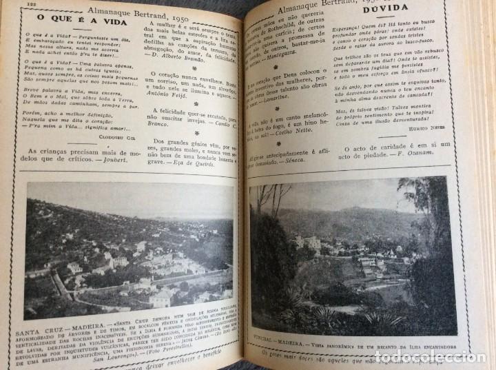 Libros de segunda mano: Almanaque Bertrand, 1950. Envio grátis. - Foto 12 - 194884753