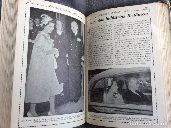 Libros de segunda mano: Almanaque Bertrand, 1960. Envio grátis. - Foto 3 - 194885408