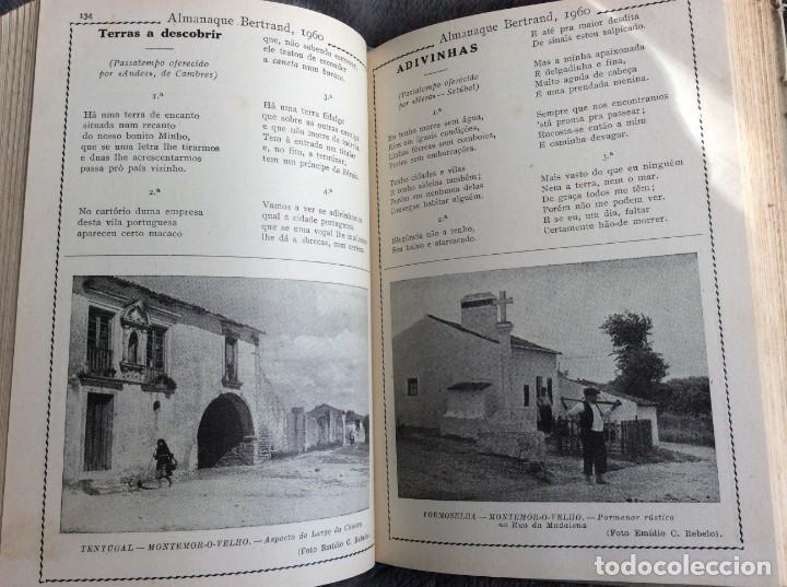 Libros de segunda mano: Almanaque Bertrand, 1960. Envio grátis. - Foto 6 - 194885408