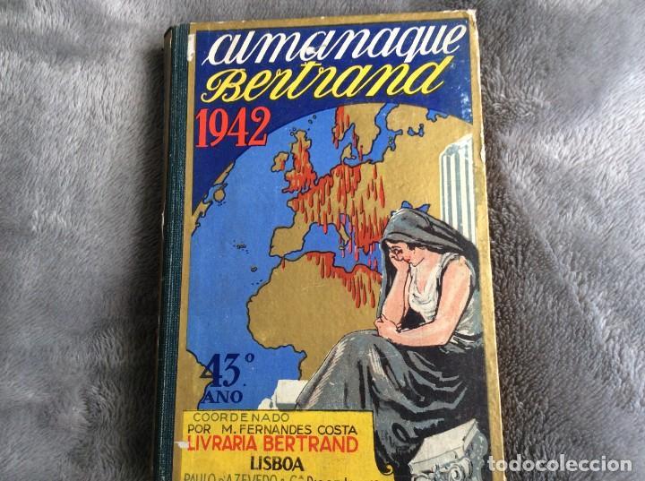 ALMANAQUE BERTRAND, 1942. ENVIO GRÁTIS. (Libros de Segunda Mano - Historia - Otros)