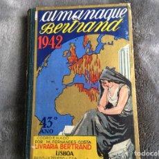 Libros de segunda mano: ALMANAQUE BERTRAND, 1942. ENVIO GRÁTIS.. Lote 194885925