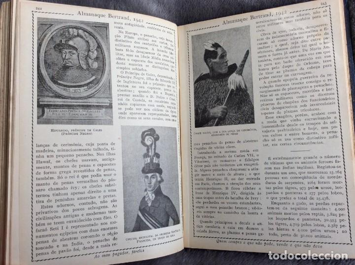 Libros de segunda mano: Almanaque Bertrand, 1942. Envio grátis. - Foto 2 - 194885925