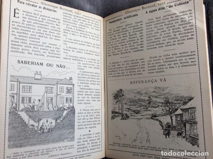 Libros de segunda mano: Almanaque Bertrand, 1942. Envio grátis. - Foto 4 - 194885925