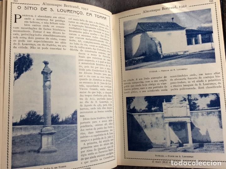 Libros de segunda mano: Almanaque Bertrand, 1942. Envio grátis. - Foto 6 - 194885925
