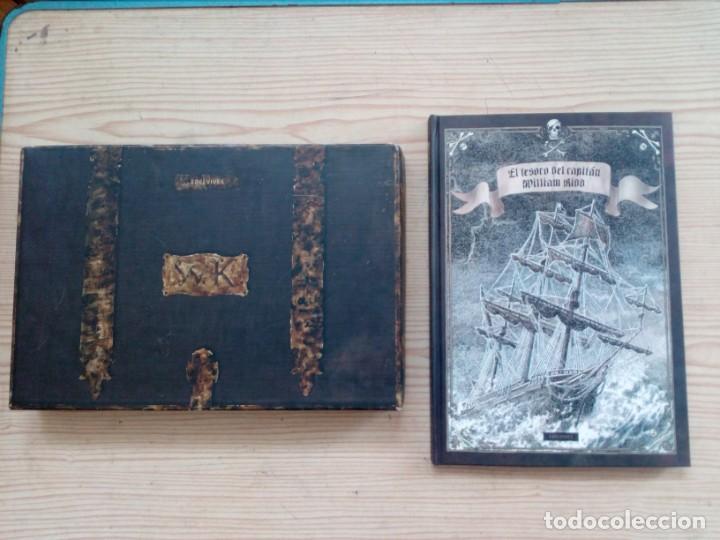 LIBRO JUEGO EL TESORO DEL CAPITAN WILLIAM KIDD CON CAJA - EDELVIVES - 2007 (Libros de Segunda Mano - Literatura Infantil y Juvenil - Otros)