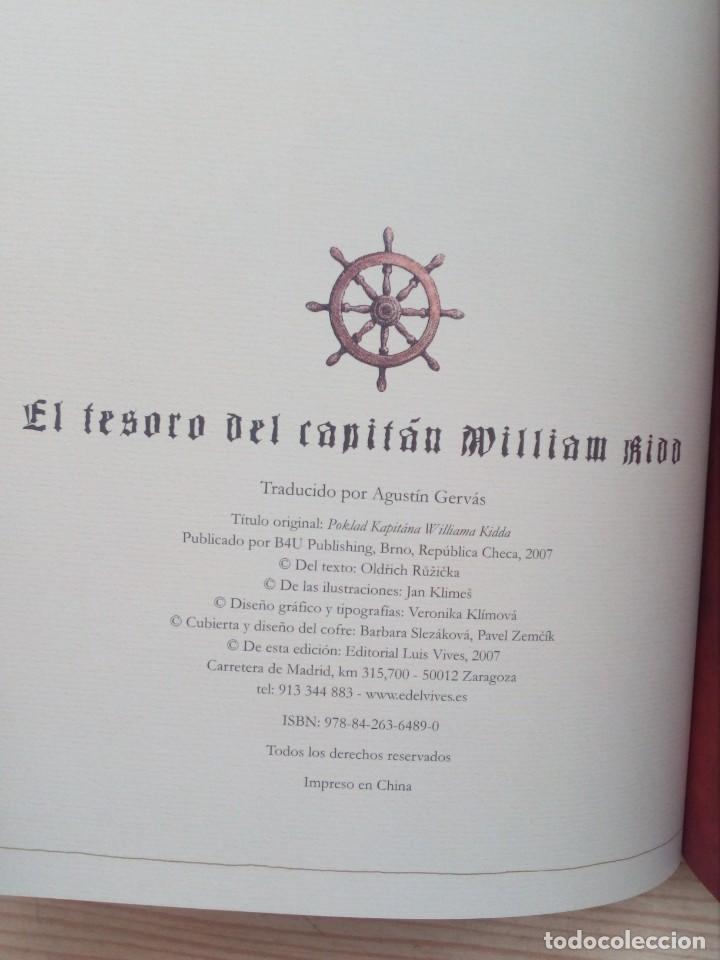 Libros de segunda mano: Libro Juego El Tesoro Del Capitan William Kidd Con Caja - Edelvives - 2007 - Foto 2 - 194888742