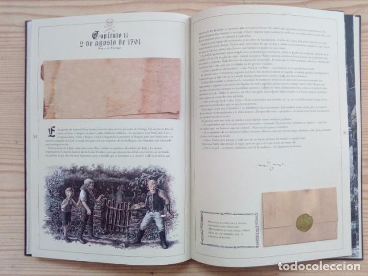 Libros de segunda mano: Libro Juego El Tesoro Del Capitan William Kidd Con Caja - Edelvives - 2007 - Foto 4 - 194888742