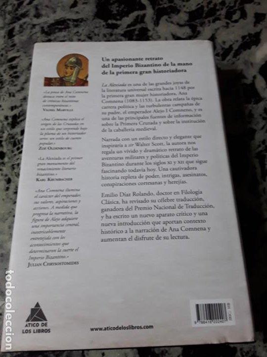 Libros de segunda mano: La Alexiada, de Ana Comnena. Magnífico estado. Tapa dura. Las Cruzadas. - Foto 2 - 194888863