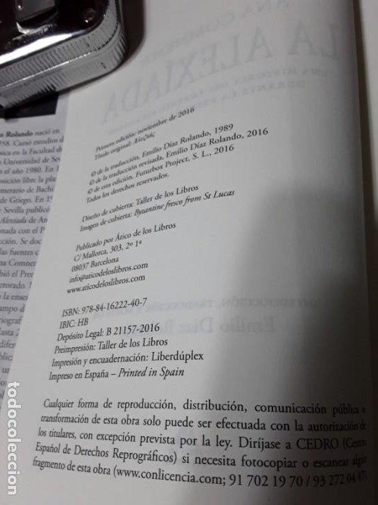 Libros de segunda mano: La Alexiada, de Ana Comnena. Magnífico estado. Tapa dura. Las Cruzadas. - Foto 3 - 194888863