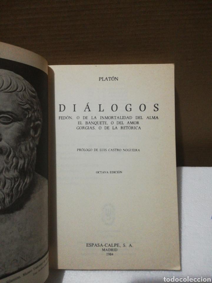 Libros de segunda mano: Diálogos ,Platón .Editorial austral - Foto 3 - 194888990