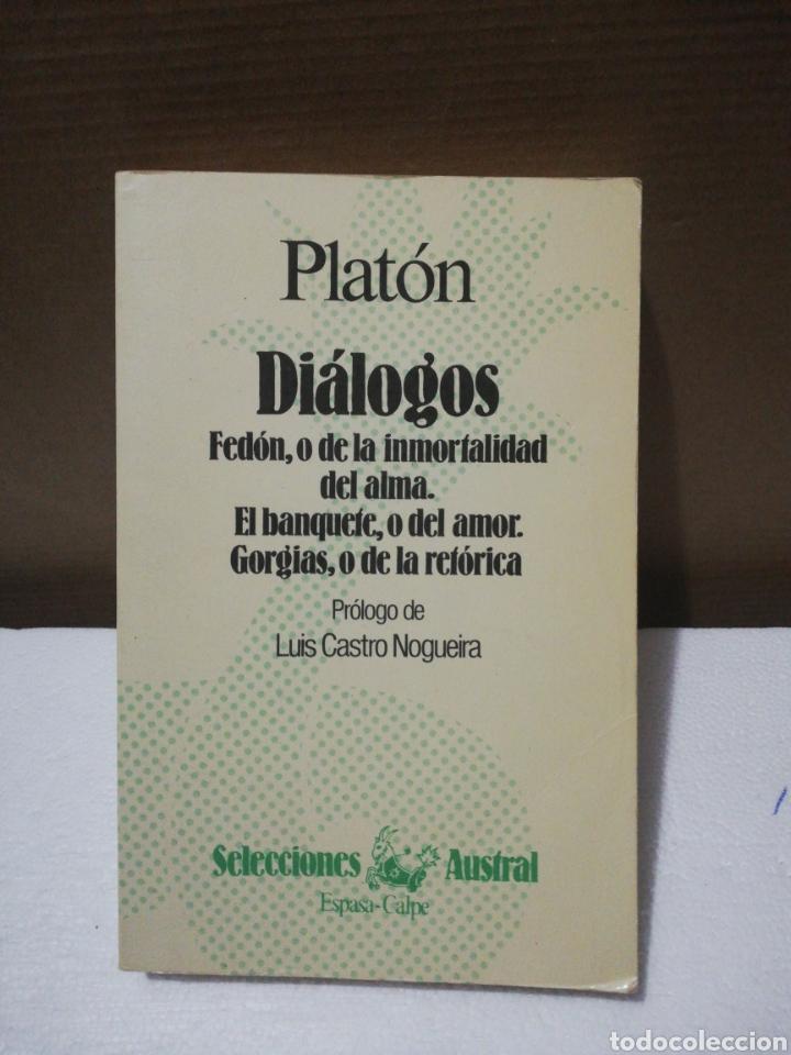 DIÁLOGOS ,PLATÓN .EDITORIAL AUSTRAL (Libros de Segunda Mano - Ciencias, Manuales y Oficios - Otros)