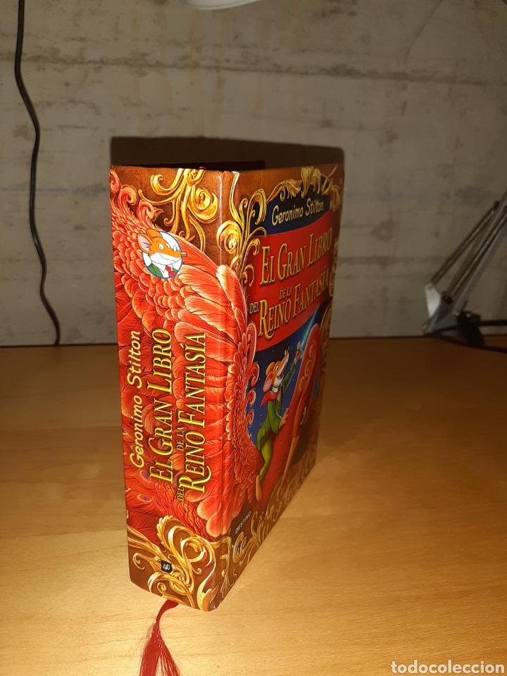 Libros de segunda mano: El gran libro del reino de la fantasía. Geronimo stilton - Foto 2 - 194890250