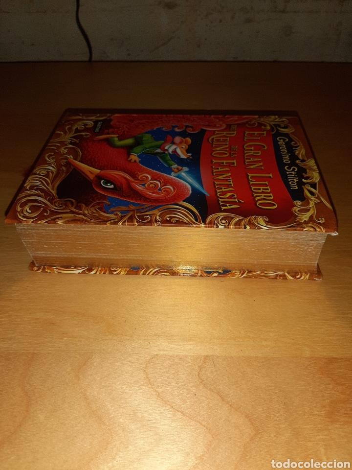 Libros de segunda mano: El gran libro del reino de la fantasía. Geronimo stilton - Foto 3 - 194890250