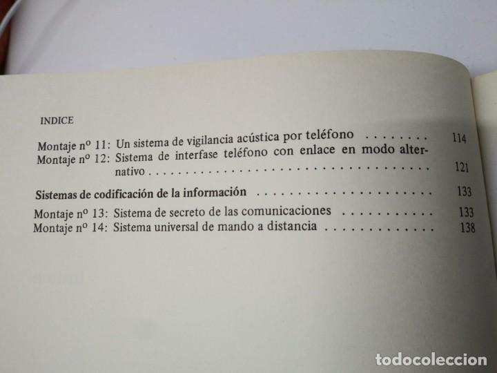 Libros de segunda mano: Libro año 1983 INTERFONOS Y TELEFONOS Paraninfo - Foto 4 - 194892701