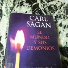 Libros de segunda mano: EL MUNDO Y SUS DEMONIOS, DE CARL SAGAN. TAPA DURA. PLANETA. CIENCIA.. Lote 194892706