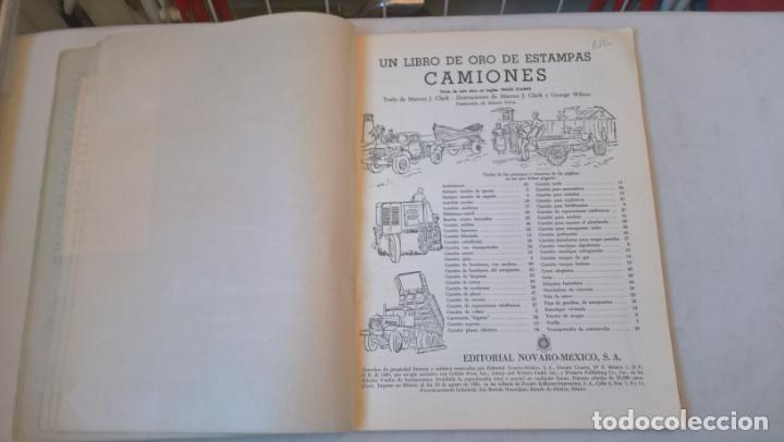 Libros de segunda mano: LIBRO DE ORO DE ESTAMPAS. Nº 38. CAMIONES. 1ª EDICIÓN 1961 - Foto 2 - 194894427