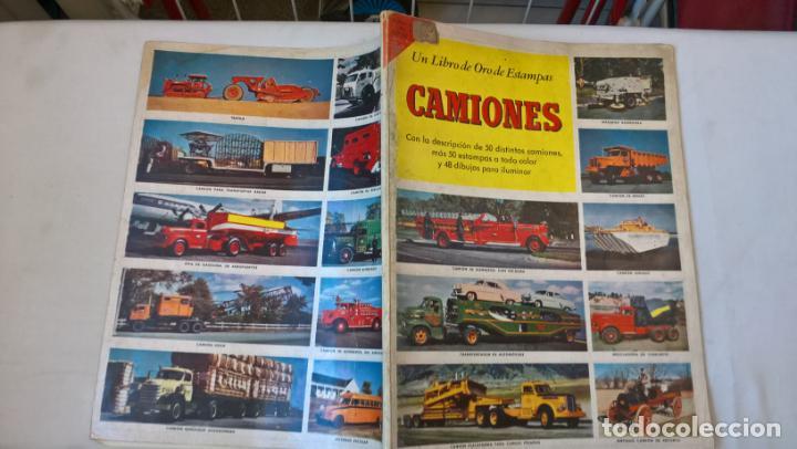 LIBRO DE ORO DE ESTAMPAS. Nº 38. CAMIONES. 1ª EDICIÓN 1961 (Libros de Segunda Mano - Bellas artes, ocio y coleccionismo - Otros)