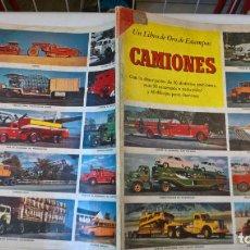 Libros de segunda mano: LIBRO DE ORO DE ESTAMPAS. Nº 38. CAMIONES. 1ª EDICIÓN 1961. Lote 194894427