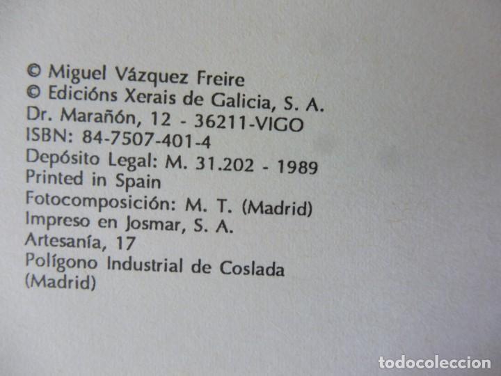 Libros de segunda mano: A malvada María Xosé. Miguel VÁZQUEZ FREIRE, EDICIÓN XERAIS 1989 - Foto 2 - 194894831