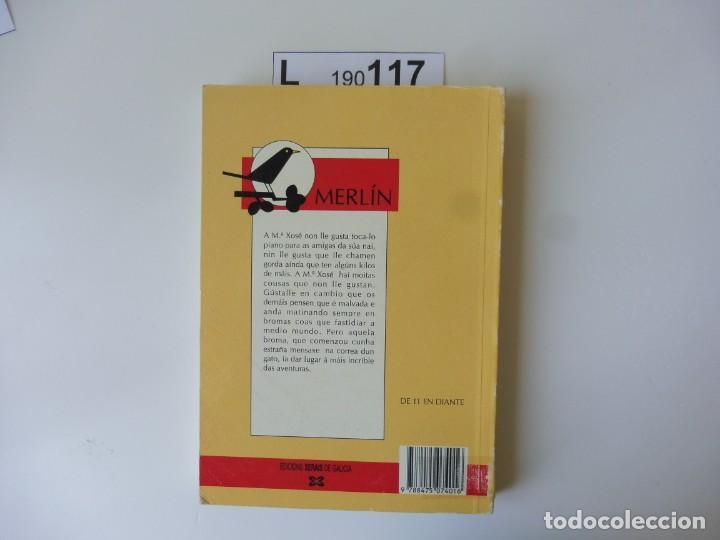 Libros de segunda mano: A malvada María Xosé. Miguel VÁZQUEZ FREIRE, EDICIÓN XERAIS 1989 - Foto 3 - 194894831