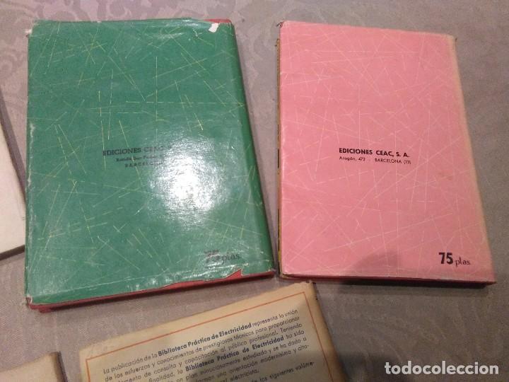 Libros de segunda mano: lote de libros fontanero,electricidad,motores electricos,electrotecnia años 40,50,60 poquisimo uso - Foto 5 - 194895057