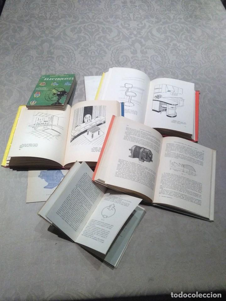 Libros de segunda mano: lote de libros fontanero,electricidad,motores electricos,electrotecnia años 40,50,60 poquisimo uso - Foto 7 - 194895057