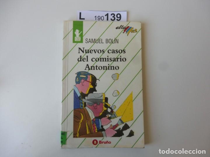 NUEVOS CASO DEL COMISARIO ANTONIO. SAMUEL BOLÍN. EDITORIAL BRUÑO 1992 (Libros de Segunda Mano - Literatura Infantil y Juvenil - Otros)