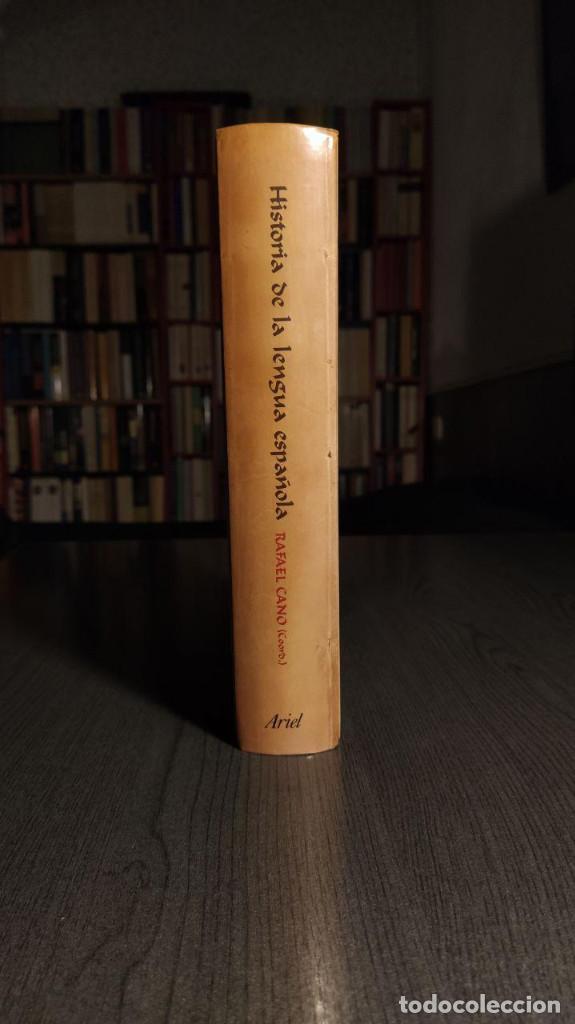 Libros de segunda mano: Historia de la lengua española Rafael Cano. Ariel - Foto 5 - 194897627