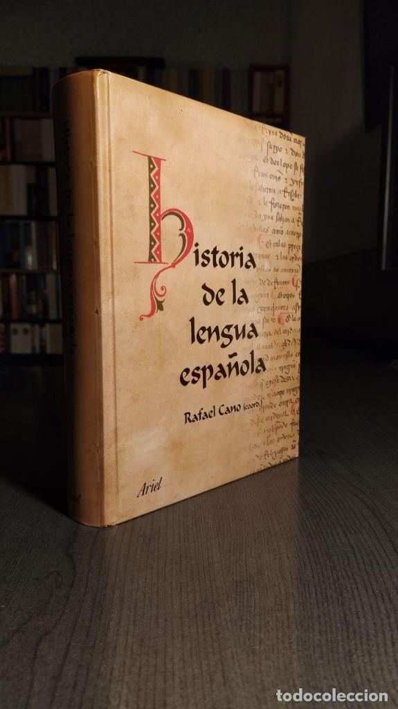 Libros de segunda mano: Historia de la lengua española Rafael Cano. Ariel - Foto 6 - 194897627