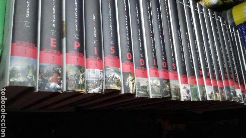 EPISODIOS NACIONALES. BENITO PEREZ GALDOS. 23 VOL. COMPLETA. ESPASA.EL MUNDO. (Libros de Segunda Mano - Historia - Otros)