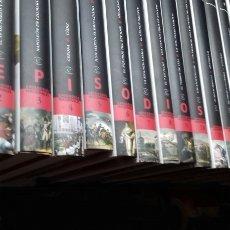 Libros de segunda mano: EPISODIOS NACIONALES. BENITO PEREZ GALDOS. 23 VOL. COMPLETA. ESPASA.EL MUNDO.. Lote 194898038