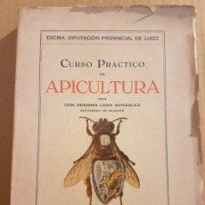 Libros de segunda mano: CURSO PRÁCTICO DE APICULTURA ( BENIGNO LEDO GONZÁLEZ 1947 ). Lote 194898857