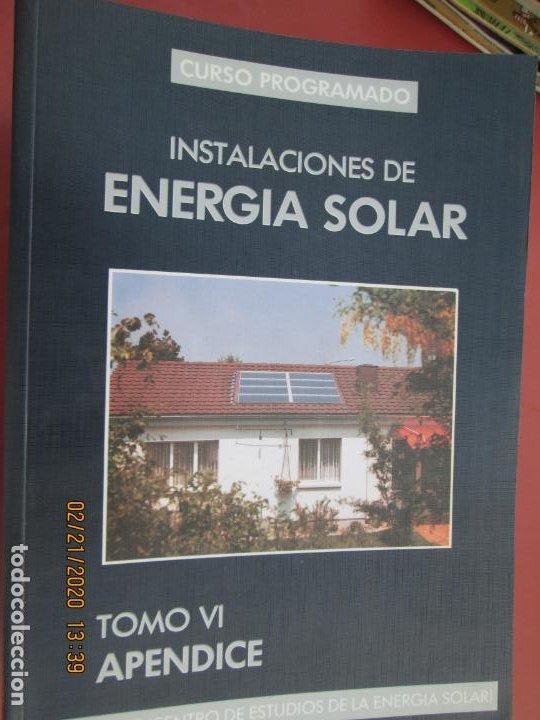 Libros de segunda mano: CURSO PROGRAMADO COMPLETO DE INSTALACIONES ENERGIA SOLAR 6 TOMOS - tercera edicion 2004 - Foto 2 - 194899012