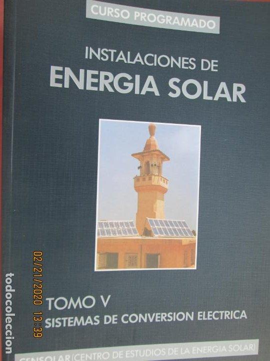Libros de segunda mano: CURSO PROGRAMADO COMPLETO DE INSTALACIONES ENERGIA SOLAR 6 TOMOS - tercera edicion 2004 - Foto 3 - 194899012