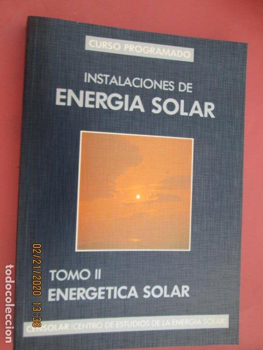 Libros de segunda mano: CURSO PROGRAMADO COMPLETO DE INSTALACIONES ENERGIA SOLAR 6 TOMOS - tercera edicion 2004 - Foto 6 - 194899012
